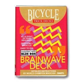 Фокусная колода Brainwave Deck Bicycle (красная)