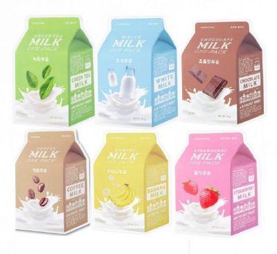 Маска для лица тканевая A'PIEU One-Pack White Milk
