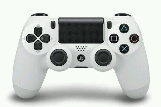 Геймпад Sony PlayStation 4 белый (версия v2 !!!) (УЦЕНКА !!! После ремонта)
