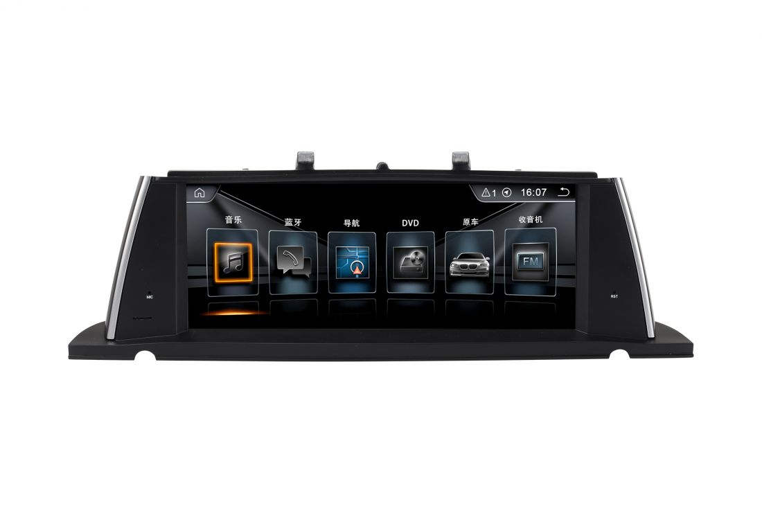 "Radiola NAV-RDL-8258 Магнитола BMW 5 GT серии F07 (2011-2012) Android 10.25"""