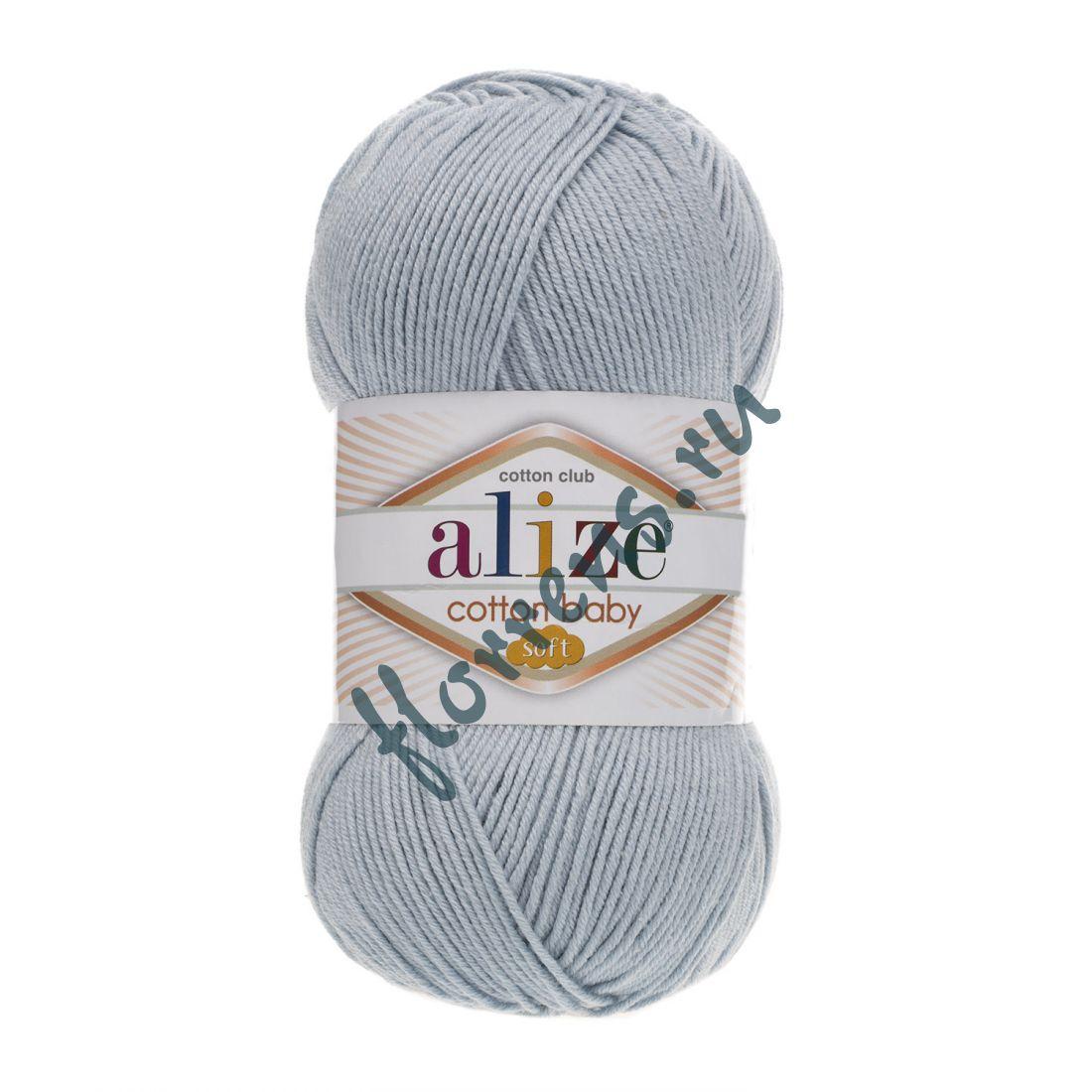 Пряжа Alize Cotton Baby soft / 480 св. синий