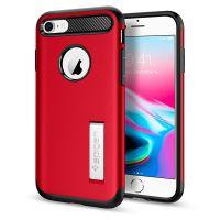 Чехол Spigen Slim Armor для iPhone 8 красный