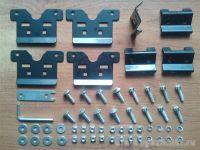 Адаптеры для багажника BMW X1 (F48), X3 (F25, с 2014 г.), X5 (F15, с 2014 г.), Lux, артикул 843355