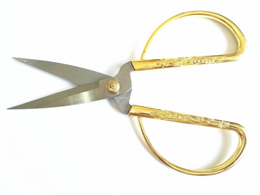 Бытовые чудо-ножницы Gold-Plating Household Scissors