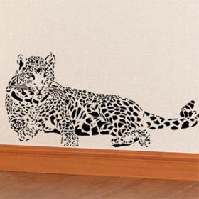 """стикер """"леопард"""" 1"""