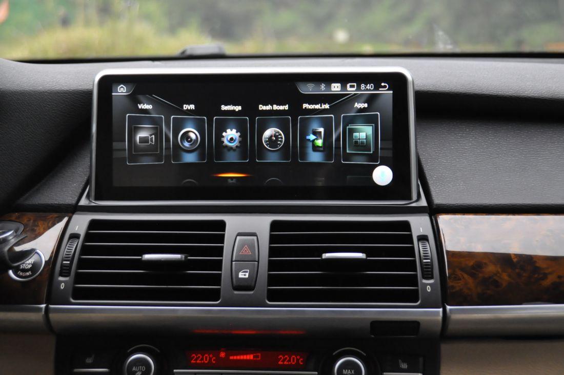 "Radiola NAV-RDL-8225 Монитор BMW X5/Х6 серии E70/Е71 (2010-2013)CIC Android 8.1 , 10,25"""