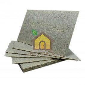 Базальтовый картон термоизоляционный 1250х600х10 мм. Плотность 18-40 кг/м3