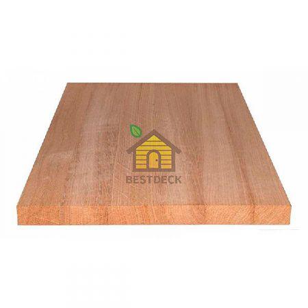 Мебельный щит из дуба цельноламельный. Сорт АС 600*20 мм