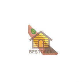 Уголок наружный Какао Goodeck 45х45x3000 мм для террас и фасадов