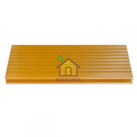 Террасная доска из ДПК Robust Boden 140*24 мм. Цвет: Лимон Standard