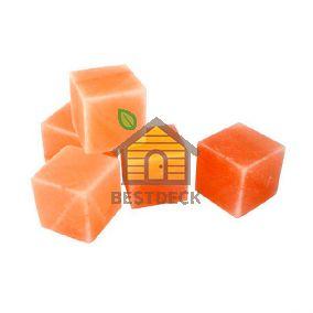 Соляной куб 100*100*100 мм из гималайской соли