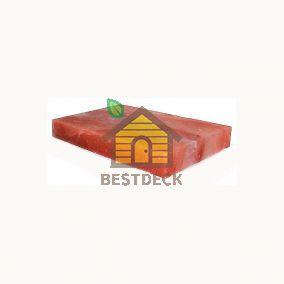 Плита из гималайской соли 400*200*38 мм розовая