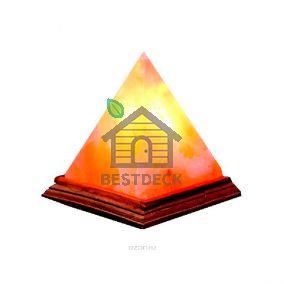 Солевая лампа из гималайской соли Пирамида