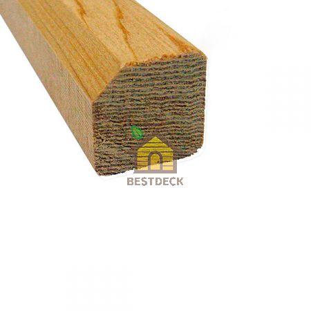 Раскладка из канадского кедра 18х18 мм