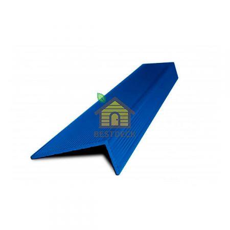 Уголок для ДПК. Синий