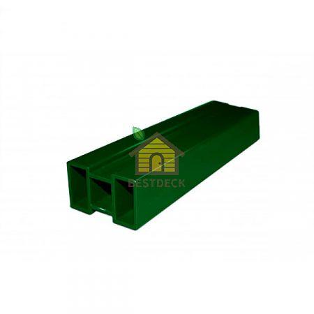 Лага из алюминия. Зелёный