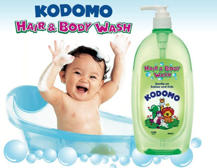 """LION """"Кодомо"""" Средство д/мытья 800мл """"От макушки до пяточек"""" для детей (0+)"""