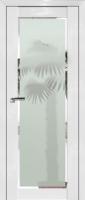 Pine White glossy, стекло Square матовое