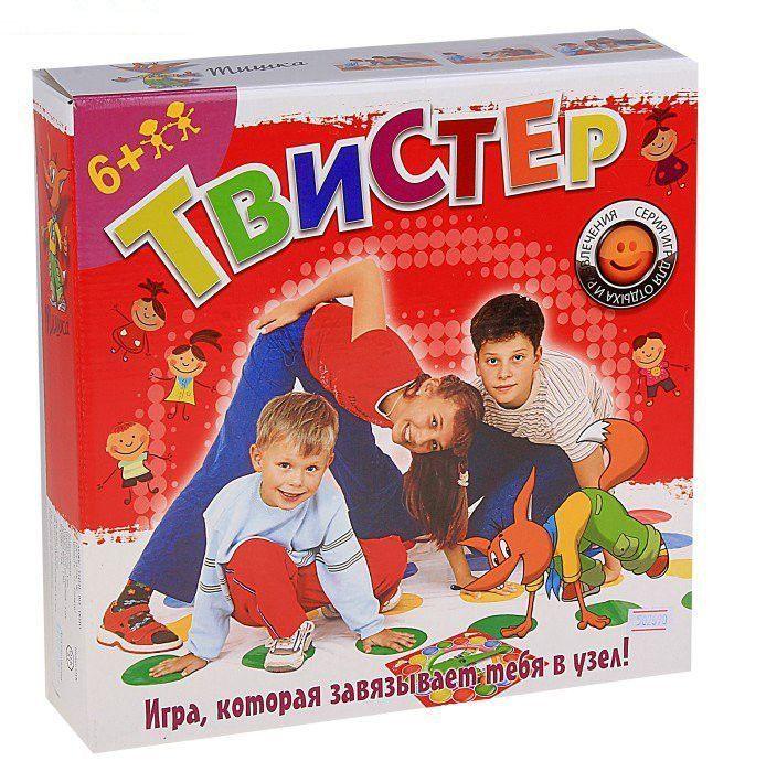 Напольная игра Твистер