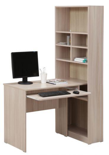 Стол компьютерный со стелажом 10.04