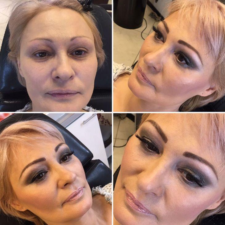 Вечерний макияж, Мастер Халима.