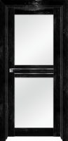 Pine Black glossy, стекло матовое