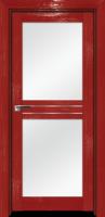 Pine Red glossy, стекло матовое