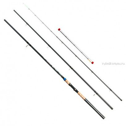 Купить Удилище карповое/фидер Kaida Tritium Carp Feeder 3,9м / тест 150 гр арт: 315-390