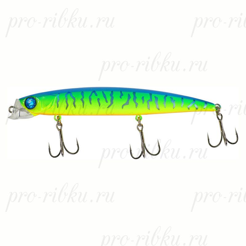 Воблер JACKALL RADA MINNOW 114 Blue Back Tiger