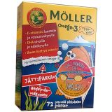 Moller Omega-3+D3 детские витамины