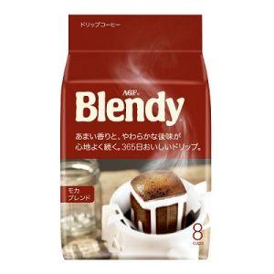 AGF Blendy Mocha Blend (Мокка) молотый кофе в дрип-пакетах (8 пакетиков)