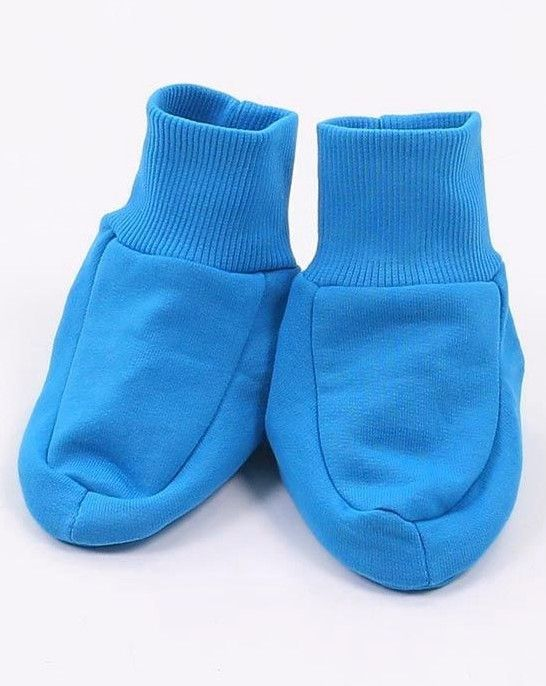 Голубые пинетки для мальчика