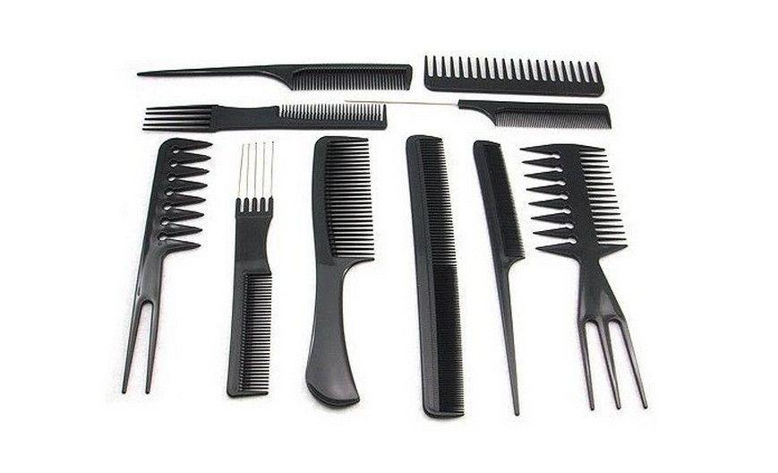 Набор расчёсок в чехле (10 шт)