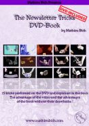 15 карточных фокусов от Mathieu Bich - The Newsletter Tricks DVD - BOOK (гиммики в комплекте)