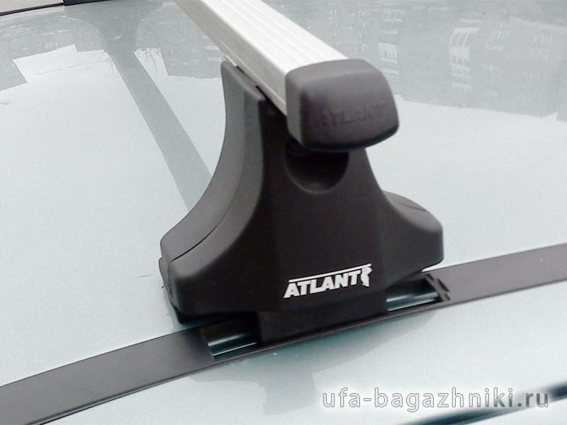 Багажник на крышу Chevrolet Viva, Атлант, прямоугольные дуги