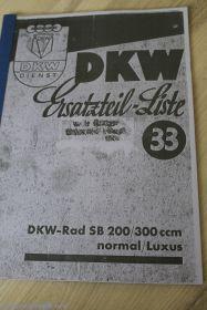 Каталог DKW SB 200/300