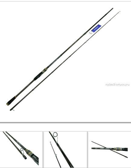 Спиннинг Kaida Conquer 2,13 м/ тест 10-42 гр/ арт: 752-1042-213  - купить со скидкой