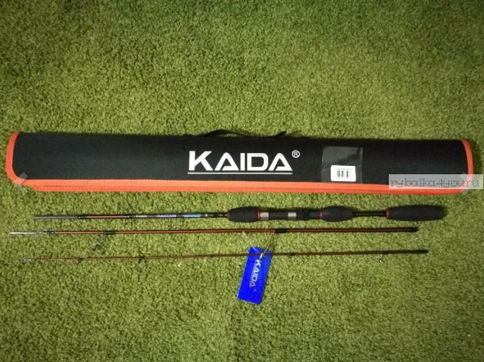 Купить Спиннинг Kaida Solomon 1,98 м/ тест 3,5-14 гр/ арт: 750-3514-198