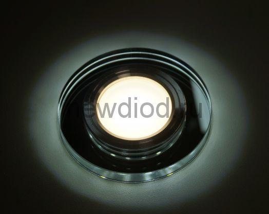 Точечный Светильник OREOL Crystal 6013 90/60mm под лампу MR16 Белый