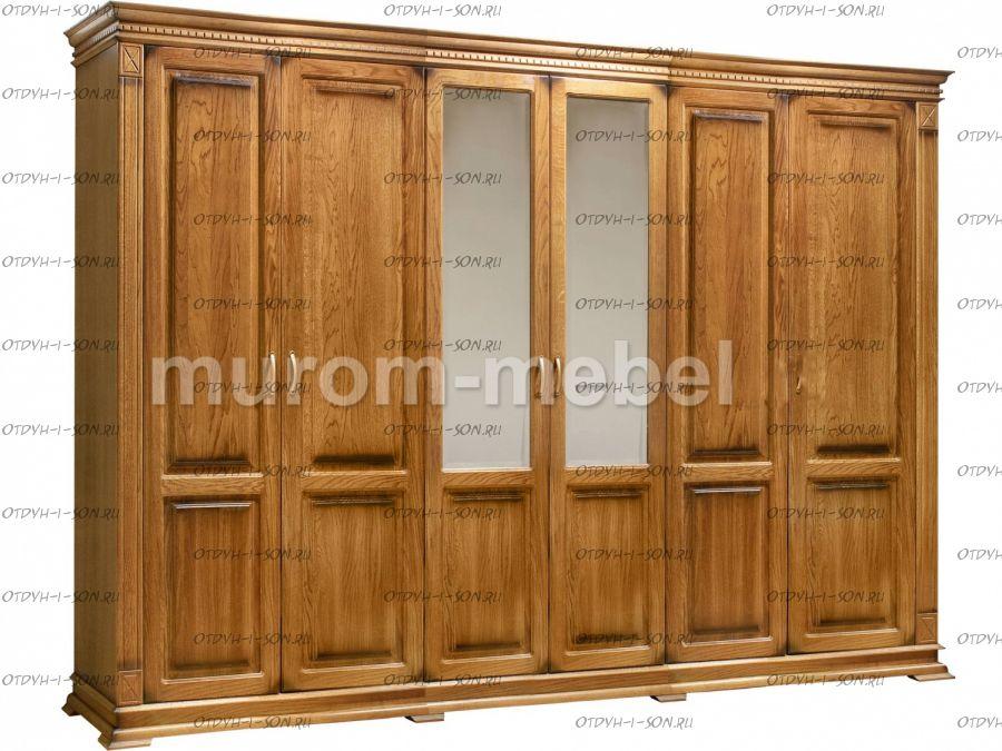 Шкаф 6-дверный Флоренция
