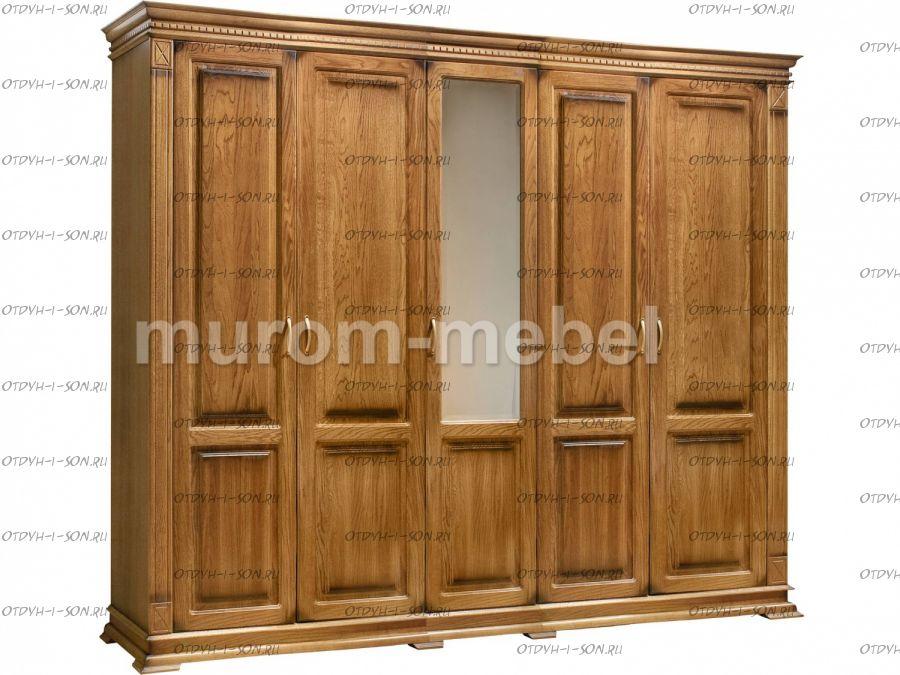 Шкаф 5-дверный Флоренция