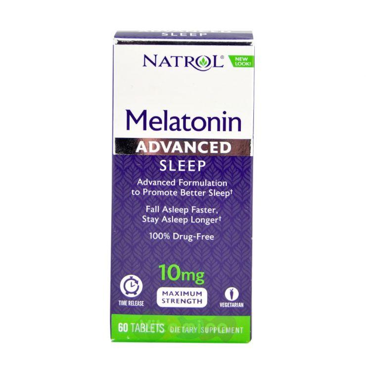 Natrol Мелатонин 10 мг, быстрорастворимые таблетки