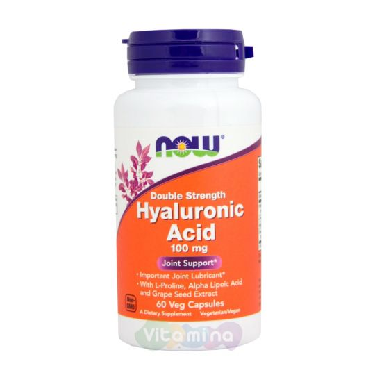 Hyaluronic Acid (Гиалуроновая кислота с Пролином) 60 капс.