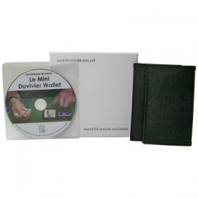 The Mini Duvivier Wallet (c DVD) by Mayette Magie Moderne