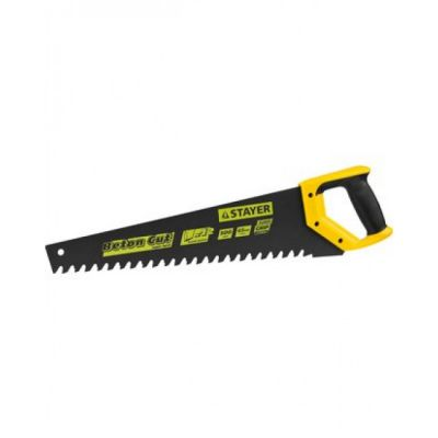 Ножовка по пенобетону STAYER 2-15096, PROFI DEEP HARD, 2-комп. ручка, шаг зуба 20мм, 500мм