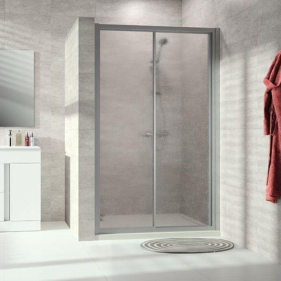 Huppe Alpha 2 Односекционная раздвижная душевая дверь с неподвижным сегментом A223 ФОТО