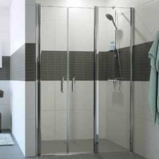 Huppe Classics 2 Дверь, открывающаяся вовнутрь и наружу, с дополнительным элементом для ниши C246