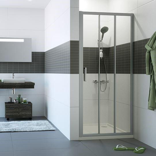 Huppe Classics 2 Раздвижная душевая дверь 2х-секционная с неподвижным сегментом C203 ФОТО