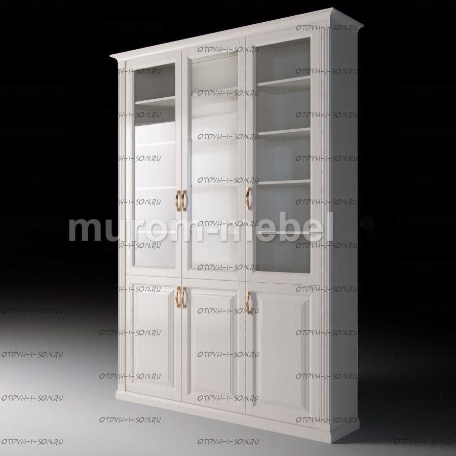 Шкаф 3-дверный Валенсия (135х33х215)