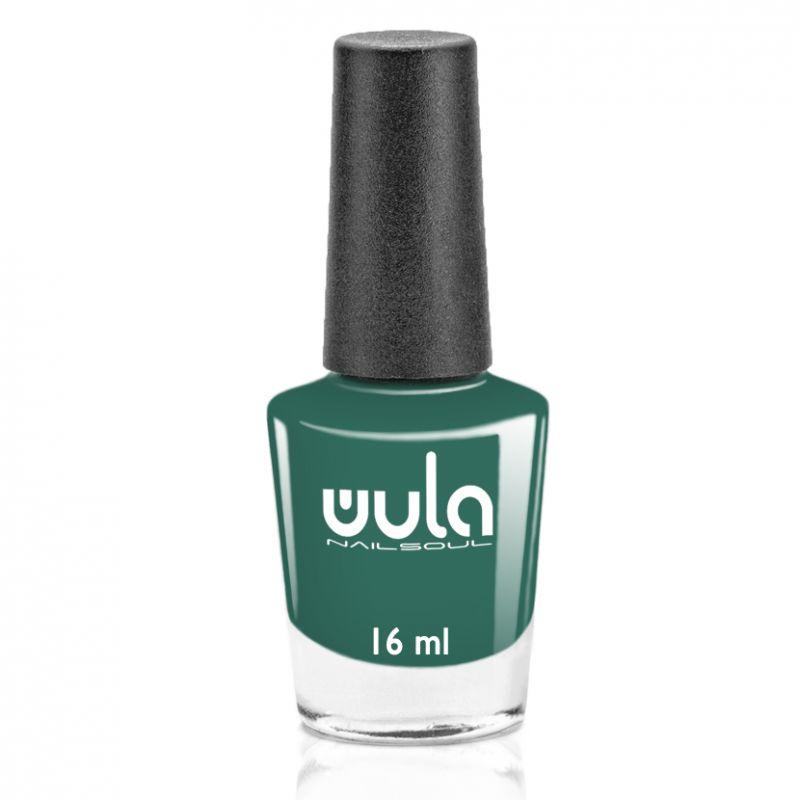 "WULA nailsoul Лак для ногтей, тон 76 ""Глубокий зеленый"""